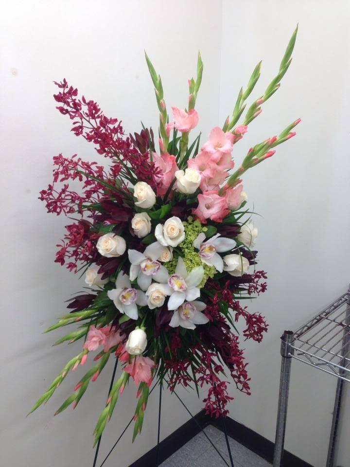 funeral floral arrangements edmonton