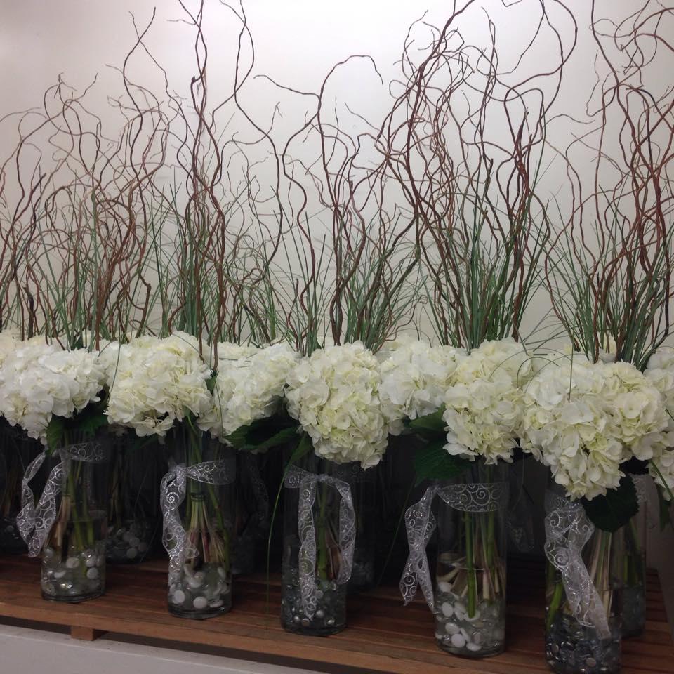 wedding center pieces edmonton