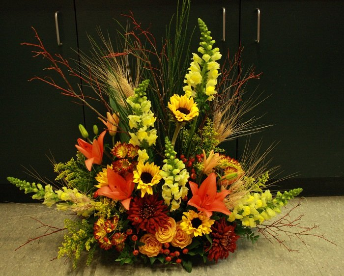 sympathy flowers edmonton